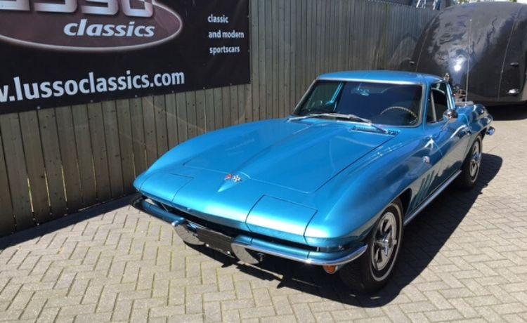 corvette coupe sting ray 1964 nassau blue 1
