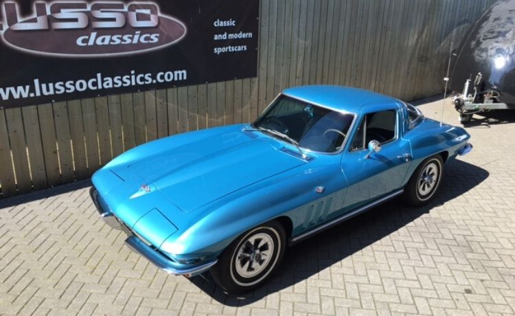 corvette coupe sting ray 1964 nassau blue 2