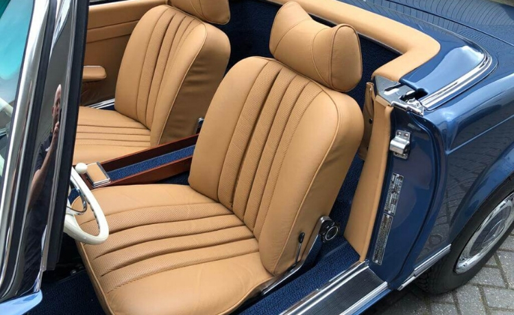 mercedes benz 280 sl pagode automatic 11