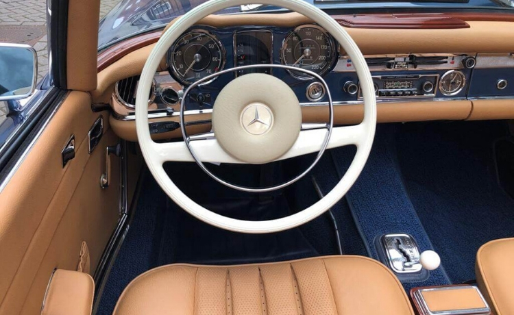 mercedes benz 280 sl pagode automatic 6