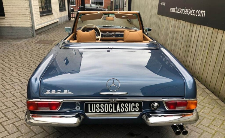 mercedes benz 280 sl pagode automatic 9